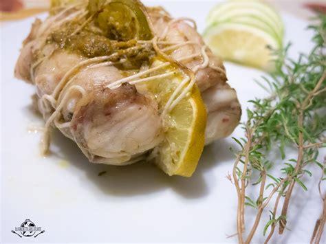 rana pescatrice come cucinarla arrosto di rana pescatrice al limone la forchetta sull
