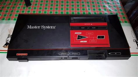 The Of Mastering Systems by Master System 1 So O Console Liga Tela Preta R 88
