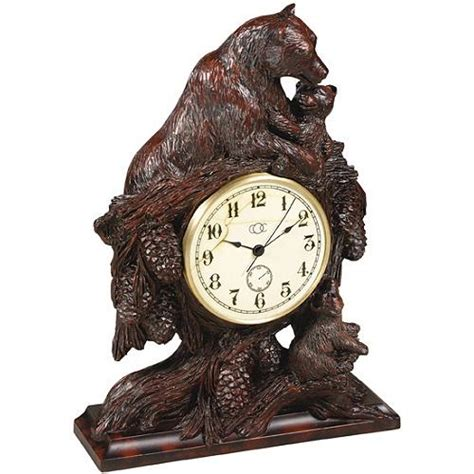 Bear Hugs Desk Clock