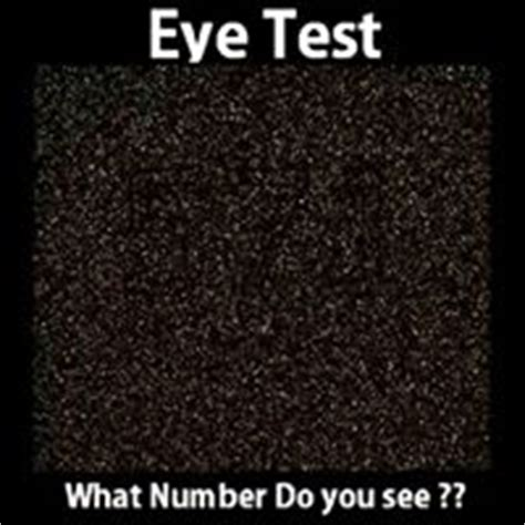 eye test what number do you see forum games nigeria