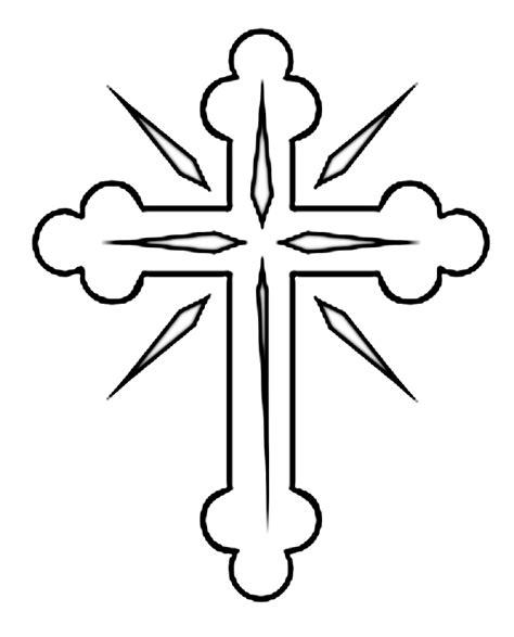 dibujos para colorear de la cruz cruz para colorear