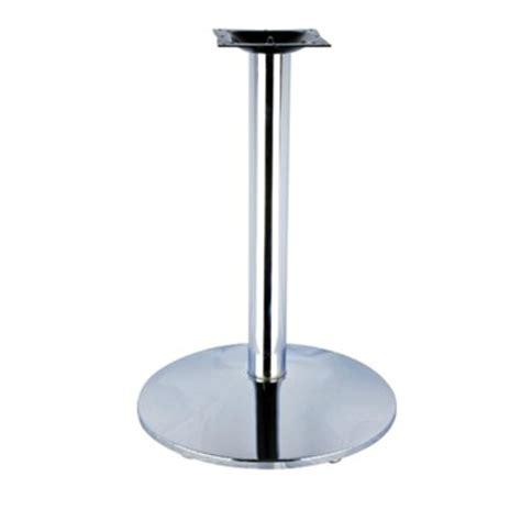 classic chrome table base 28 metalrestaurantchairs com
