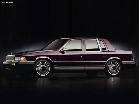 chrysler le baron information and photos momentcar - Le 4 Landau