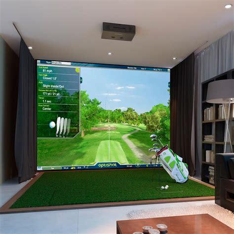 golf swing simulator optishot 2 golf simulator golf in a box swing trainers