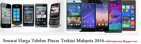 senarai harga telefon terbaru di malaysia january 2018