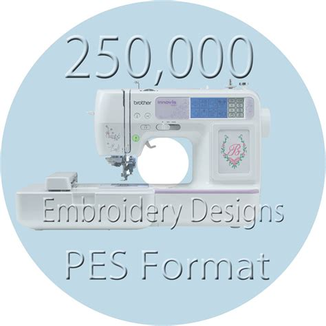 embroidery design viewer software embroidery designs 250000 pes files brother machine ebay