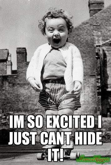 Excited Girl Meme - the gallery for gt its friday bitches funny
