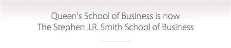 Smith School Of Business Mba by Smith School Of Business Business Education Has A New Name
