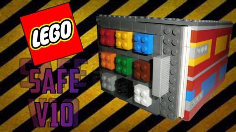 lego safe tutorial easy lego safe v10 youtube