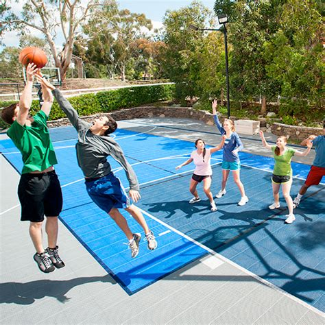 how to make a backyard basketball court fitness studios facilities sport court