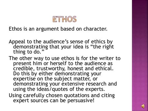 How To Use Ethos Pathos And Logos In An Essay by Ethos Pathos Logos Presentation W Audio