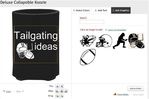 design koozies online custom can koozies tailgating ideas