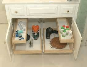 bathroom pull out shelves other metro by shelfgenie of