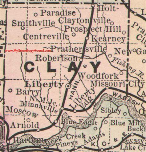 missouri map clay county clay county missouri 1886 map liberty smithville