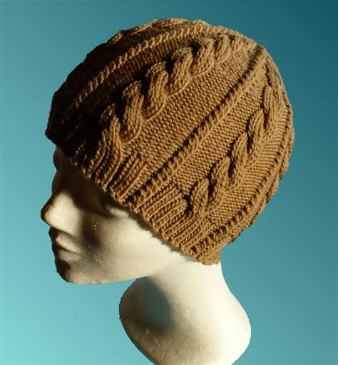 knit cable hat pattern toque knitting patterns free patterns
