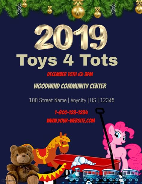 Toys For Tots Event Flyer Pictures To Pin On Pinterest Pinsdaddy Toys For Tots Email Template
