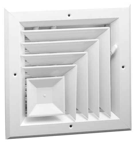 Air Diffusers For Drop Ceilings by A505 Aluminum 2 Way Corner Ceiling Diffuser Ms Or Obd
