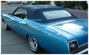 1969 70 ford galaxie 500/500xl convertible tops and