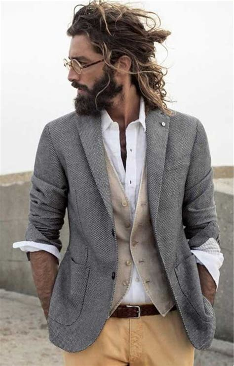 25 new hairstyles for men with long hair mens