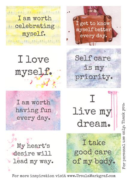 note to self affirmations to books free affirmation cards for you free pdf