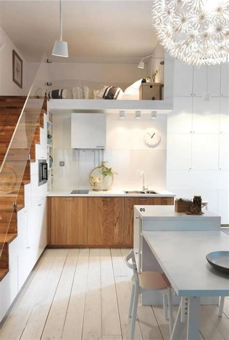 mini kitchen in bedroom 19 space saving under stairs kitchens you need to see