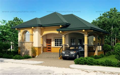 Althea Elevated Bungalow House Design Pinoy Eplans Semi Bungalow House Design Philippines