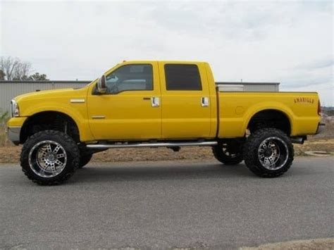 amarillo truck 2006 ford f 350 amarillo diesel lariat lifted truck for