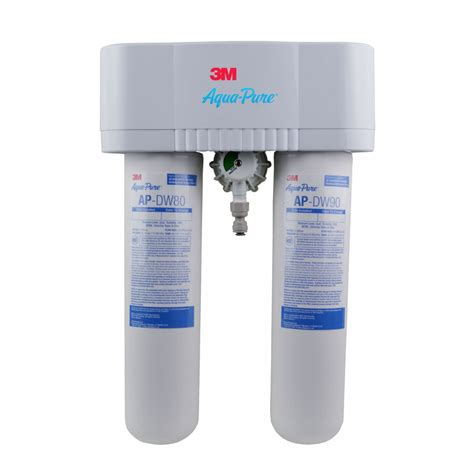 3m sink water filter 3m aqua apdws1000 undersink water filter system