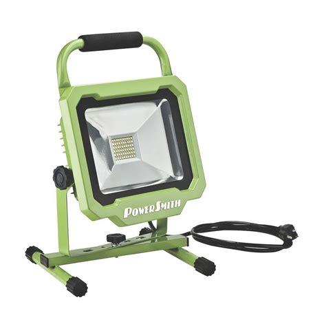 powersmith led work light powersmith 30 3000 lumens led work light pwl1130bs