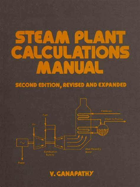 flat and corrugated diaphragm design handbook mechanical engineering books ganapathy steam plant calculations manual