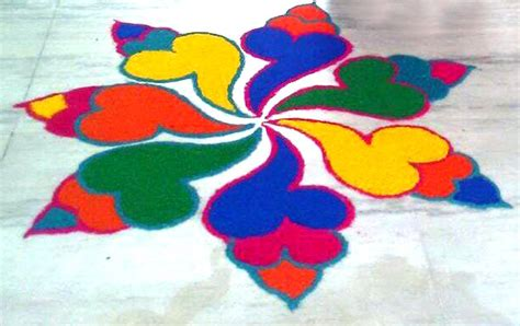 Diwali Home Decoration Ideas Photos by Easy Rangoli Design For Diwali Simple Rangoli Designs