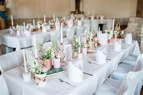 Hochzeit S by Hochzeitsdeko In Rosa Friedatheres