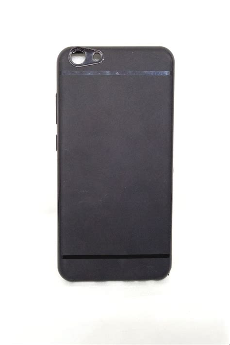 Oppo F5 Softcase Matte Black Dopp Soft Cover Casing Silikon vivo y69 matte black cover style in pocket