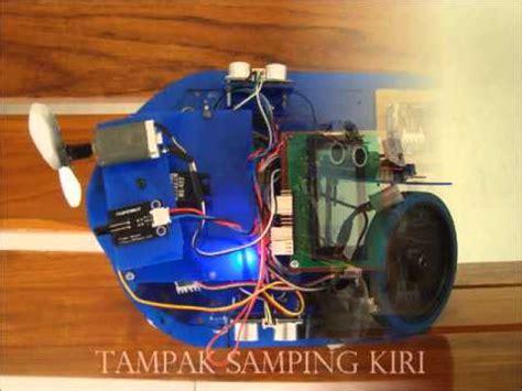 membuat robot pemadam api sederhana robot pemadam api politeknik aceh youtube
