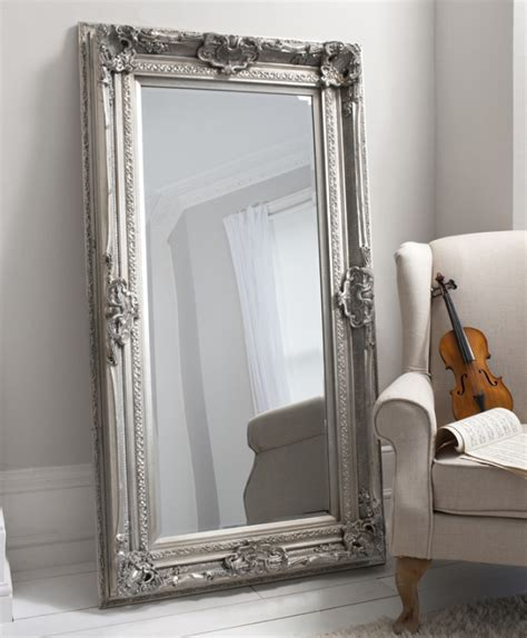french silver louis leaner mirror