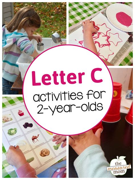 ornaments for two year olds to make letter c activities for 2 year olds the measured