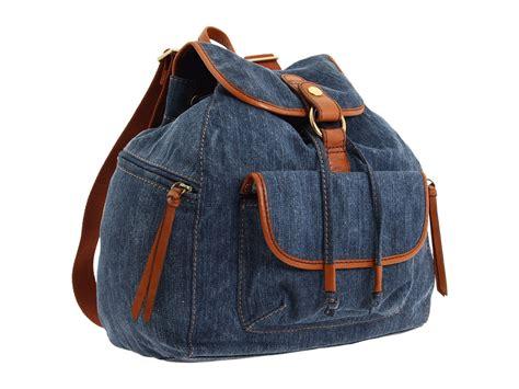 jeans backpack pattern old school backpack bag n telle
