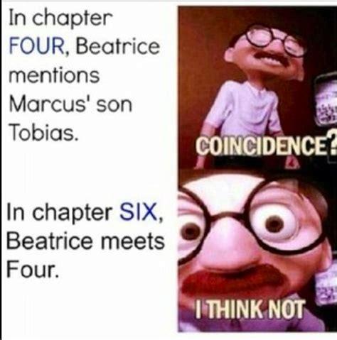 Funny Divergent Memes - divergent four and tris