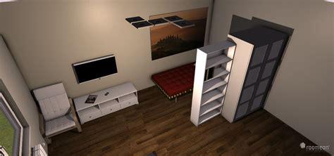 schlafzimmer wohnzimmer gleichzeitig raumplanung wohn schlafzimmer 1 roomeon community