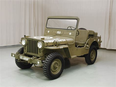 m38 jeep 1950 willys m38 jeep hyman ltd classic cars
