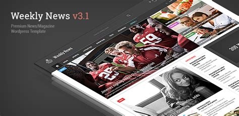 newspaper theme update weekly news update v3 1 expanding the theme mipdesign