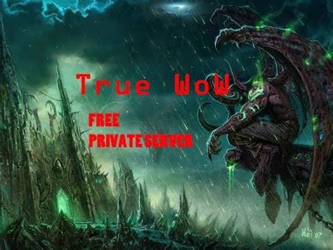 World of warcraft wrath of the lich king private server