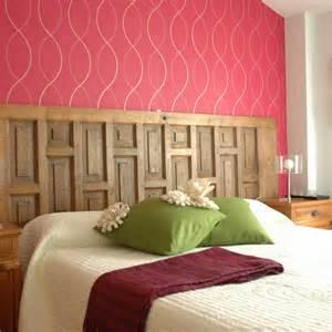 wall the bed brick headboard