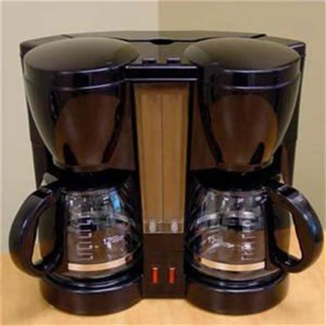 amazon com kitchen selectives dual coffee maker drip