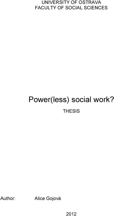 social work dissertation social work thesis writefiction581 web fc2