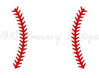 softball stitches clip art borders pictures to pin on