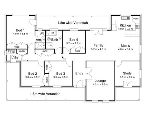 australian house plans with verandahs the davidson 171 australian house plans