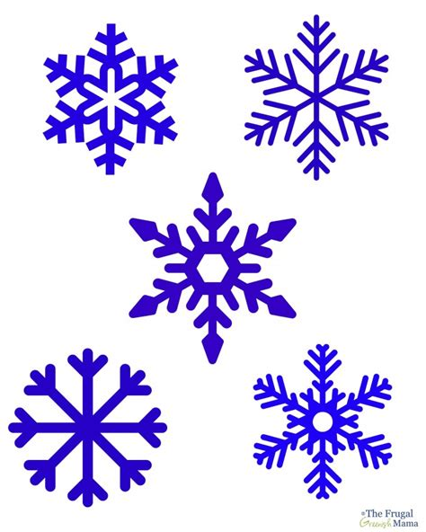 printable snowflakes small best photos of small snow flakes printables printable