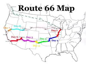 route 66 map rt 66 trip 2001 curtistothethird curtistothethird