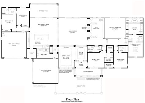 nv homes floor plans boulders at somersett the portola nv home design
